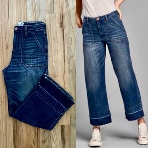 Abercrombie Cropped Stovepipe Jeans | 26/2R